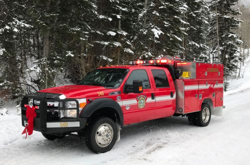 340 - Ford F550, Type 6 Wildland Brush Truck