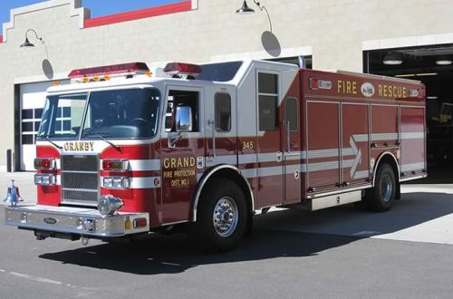 345 - Pierce, Heavy Rescue Truck