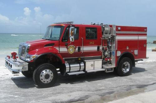 342 - Pierce, Type 3 Wildland Engine