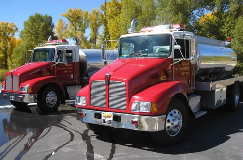 322 & 323 - Kenworth, 2,200-gallon Tender